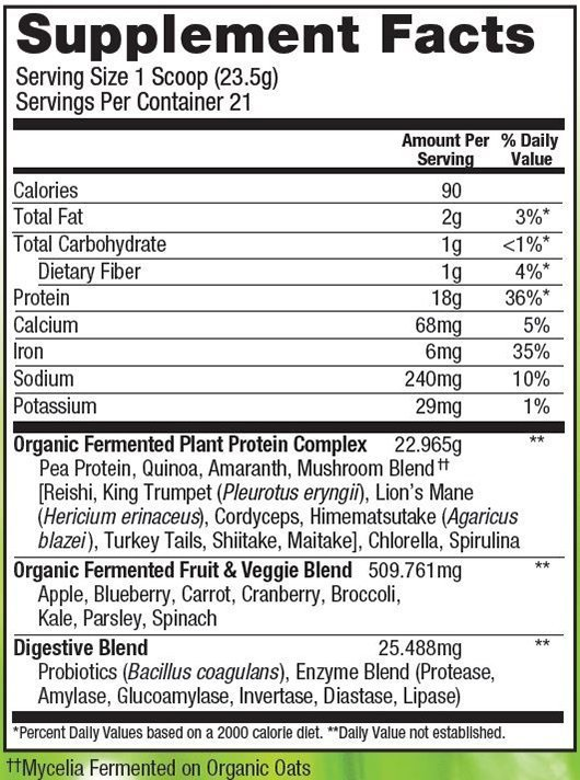 Unflavored-Protein-ingredients